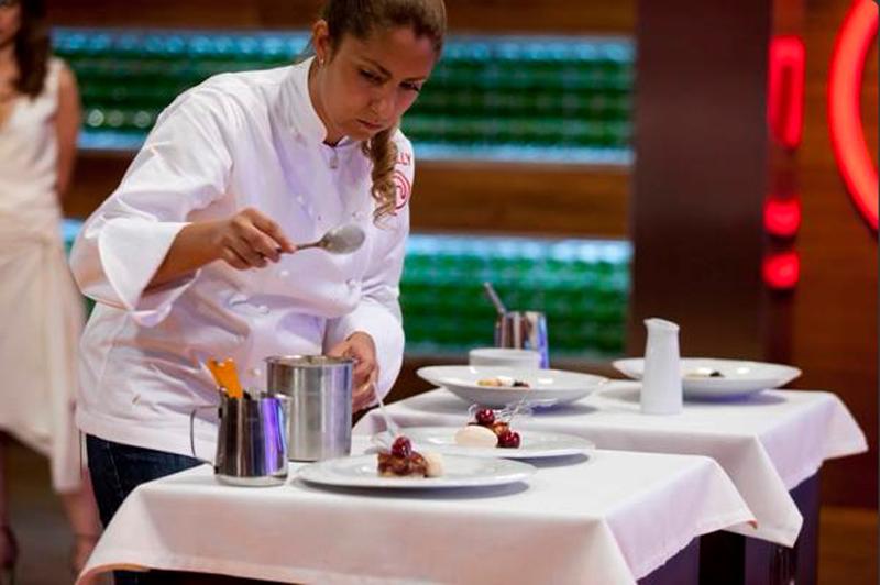 Sally Caballero, la paraguaya que llegó segunda en el Master Chef España en el año 2015.