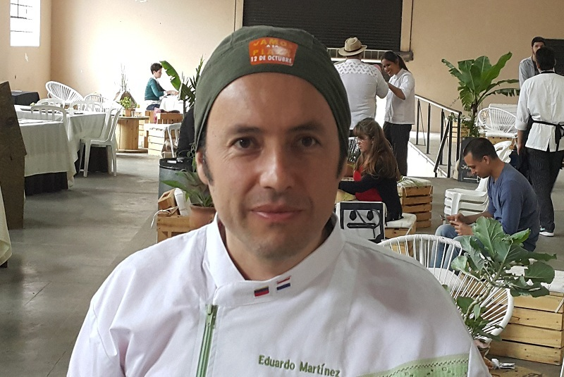 chef colombiano