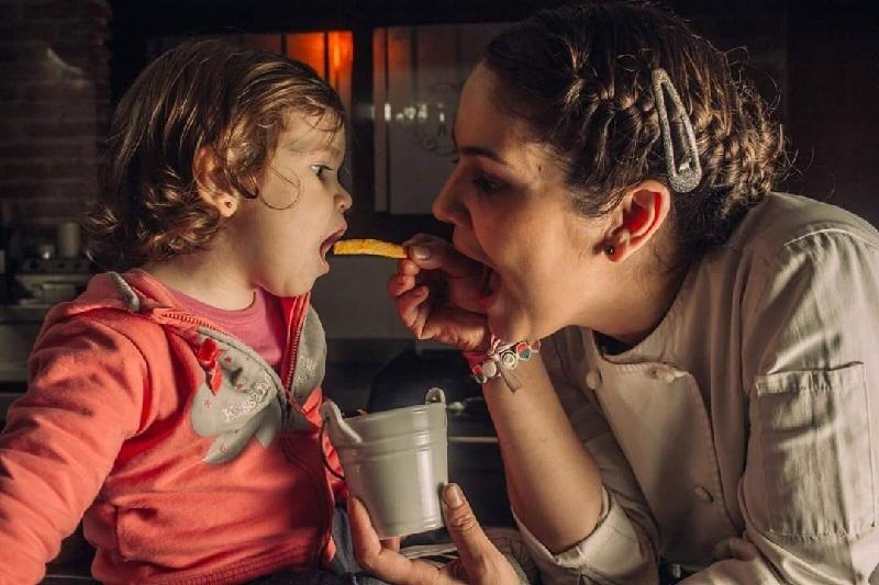 natali y su hija carla