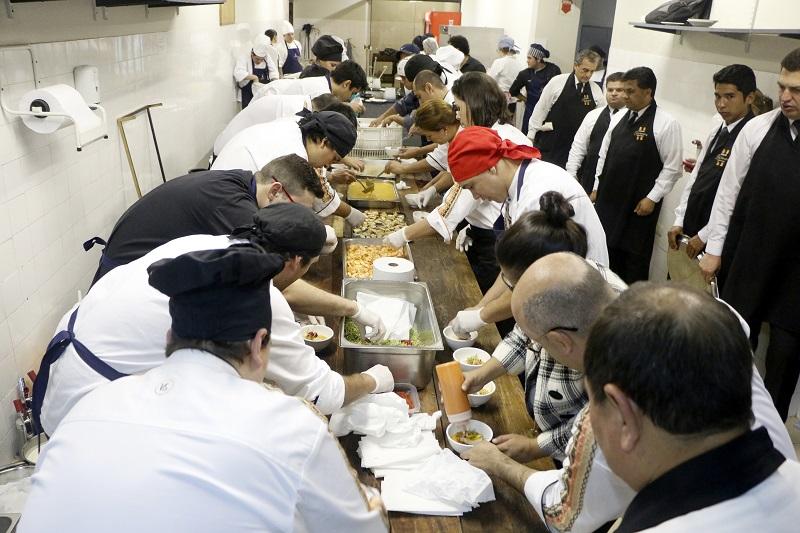 cena de los chefs