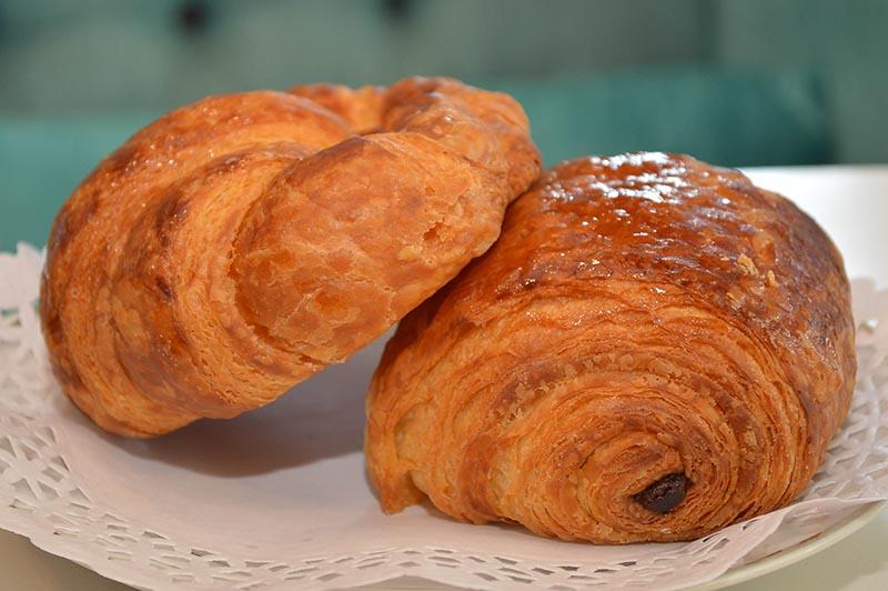 Los croissant que según Eric Maetz, son los mejores de Asunción.