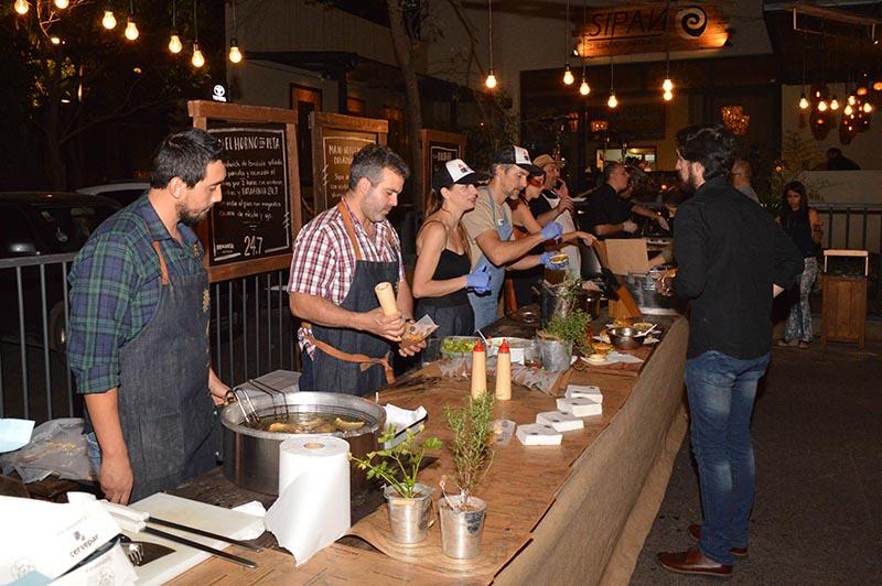 Siete cocineros prepararon recetas especiales para maridar con el 24.7 la nueva cerveza de Patagonia.