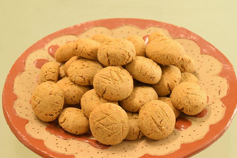 Una versión salada de la conocida chipa manduví, elaborada con la utilización de maní.