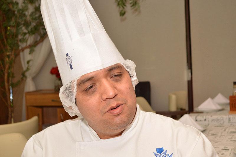 Luis Muñoz, chef peruano, docente del Instituto Cordon Bleu de Lima Perú.