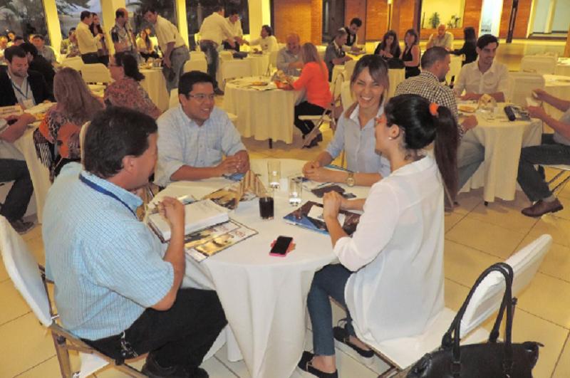 Durante la realización de la Feria Internacional A Comer se realizará por primera vez una Rueda de Negocios para el sector gastronómico. (Foto de archivo. Construtecnia)