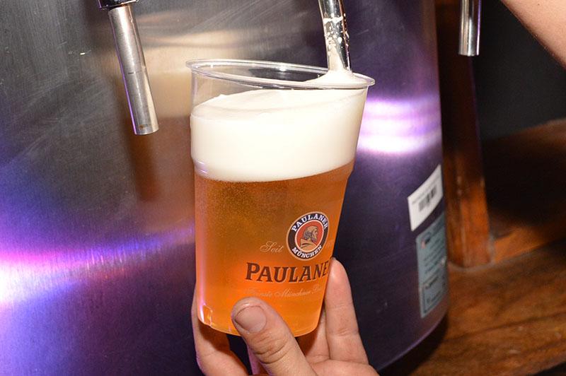 La cerveza oficial del Oktoberfest fue importada directamente de Munich. Una edición limitada preparada solo para esta celebración.