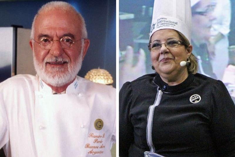 Ramiro Rodríguez Pardo, de Argentina y Sarita Garofalo de Paraguay serán los que expondrán sobre gastronomía.