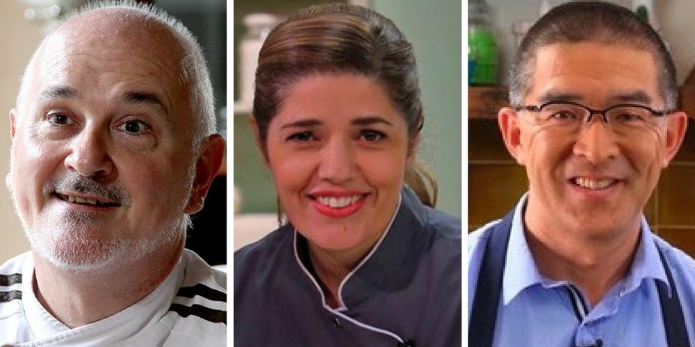 Los chefs Osvaldo Gross, Isabel Vermal y Takehiro Ohno, provenientes de la Argentina coincidirán en estos días en nuestra ciudad para participar de eventos gastronómicos.