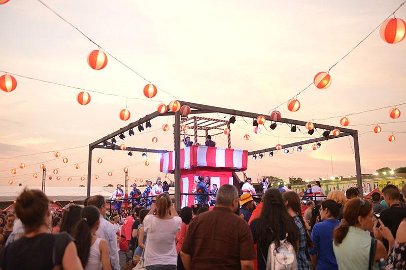 Foto de archivo del Nihon Matsuri realizado el año pasado en el Jockey Club del Paraguay. Este año reeditarán esa celebración pero a escala reducida.