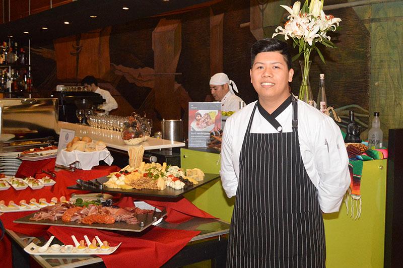 Kenyo Guardia, del Sheraton Lima Hotel, es el chef invitado para el Perú Mucho Gusto que se desarrolla en el Sheraton Asunción.