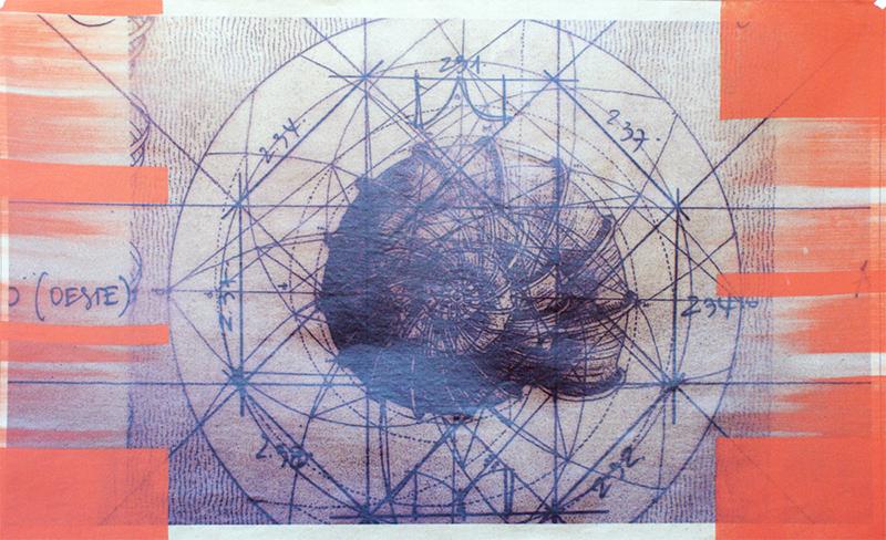 Una de las obras de Toranzos correspondiente a la colección El Palacio de los vientos, nunca antes expuestas en nuestro país.