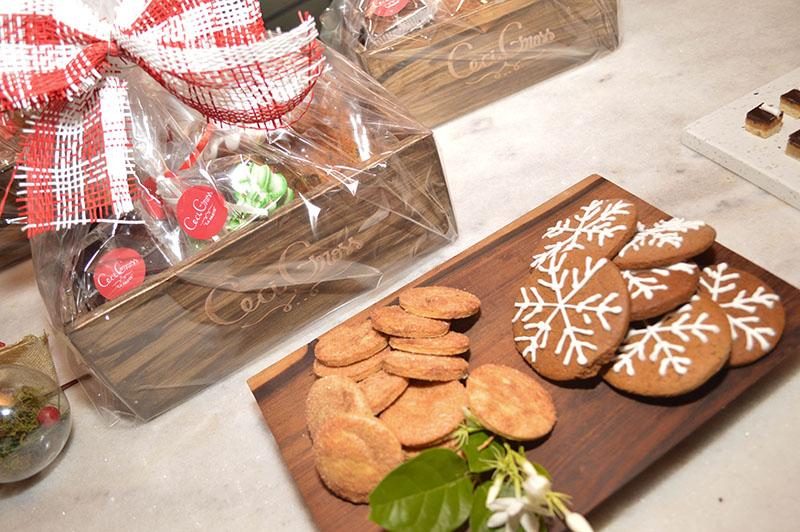 La oferta de Fin de Año de Ceci Gross también incluye Pan Dulce, Canastas de Navidad y galletitas alusivas.