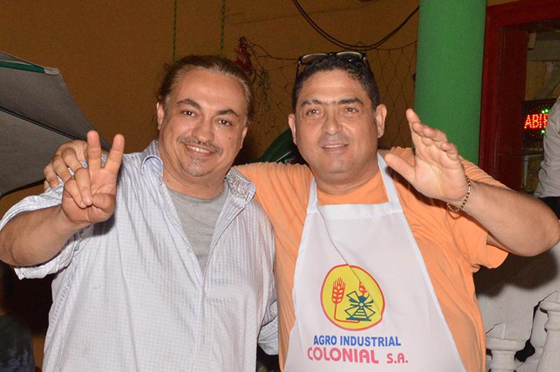 Videal Domínguez Díaz y Agostino Sambucco se unieron para habilitar San Genaro, en pleno centro, una pizzería napolitana que también sirve pastas.