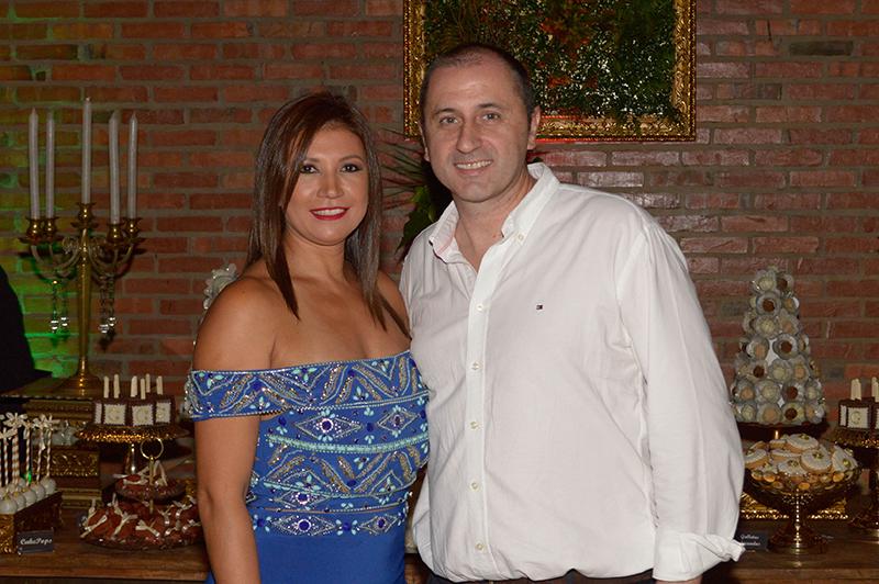 María Salinas y José Torrijos, los propietarios del Takuare´e Resto y ahora del Cañaveral, Tasca y Eventos.