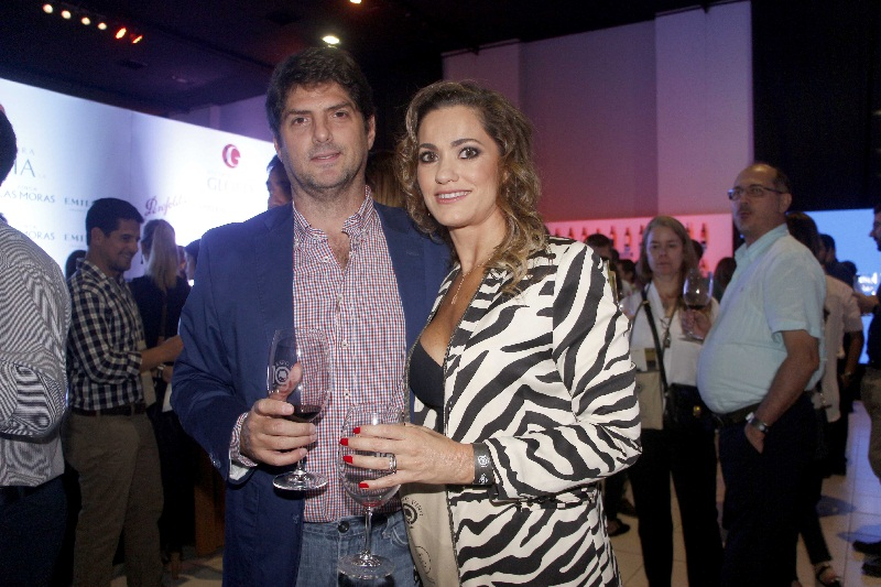 Ivan Dumot y Andrea Saba.