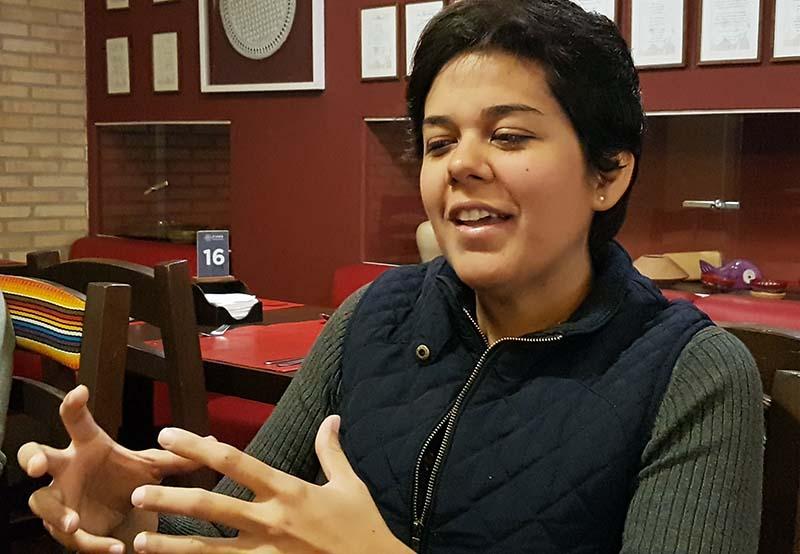 Arami O´Hara hablando del proyecto Asunción 202, capital gastronómica latinoamericana. Un ambicioso plan para potenciar la cocina paraguay.