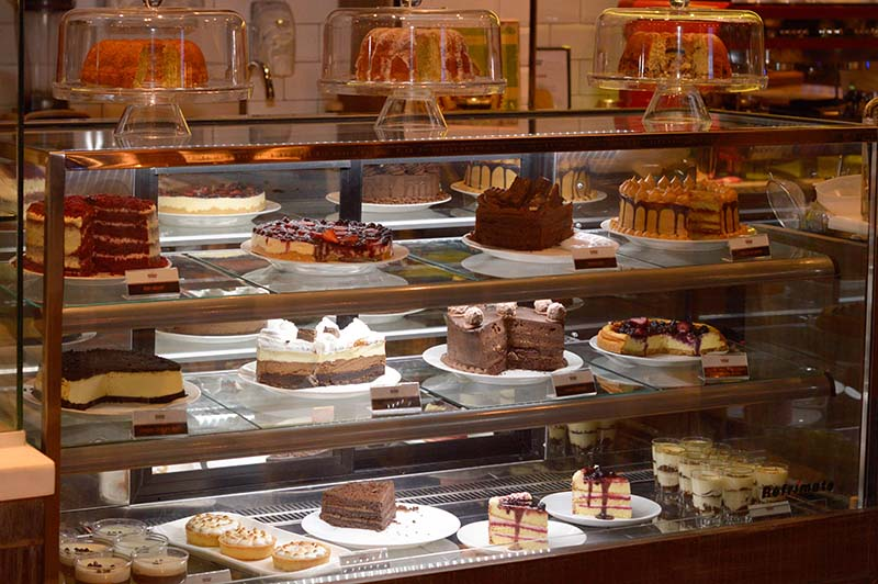 Variedad de tortas