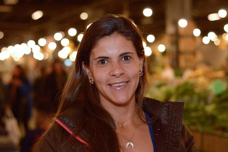 Natalia Cardozo es la emprendedora que tomó la iniciativa de dedicarse a la tapioca. Ahora ya piensa en la industrialización.