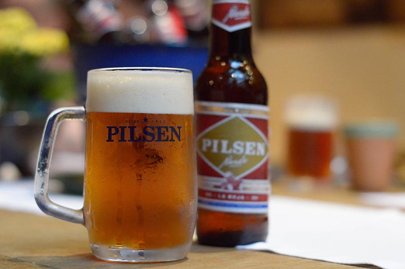 Pilsen acaba de lanzar su línea Ñande Pilsen con una variedad amber lager que viene en botellitas de 300 cc y en forma de chopp.