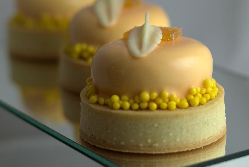 Una de las creaciones de Osvaldo Gross durante CDE Gourmet.