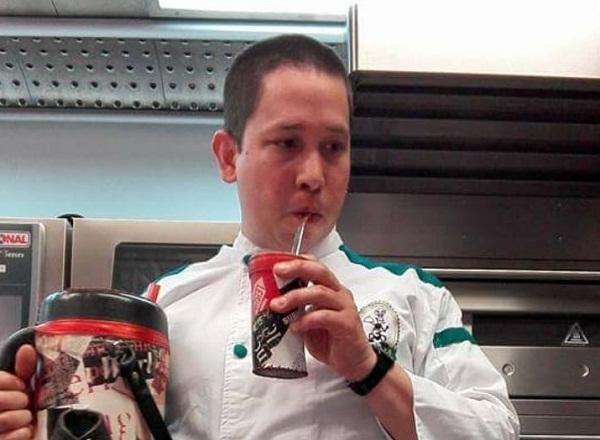 Guillermo Benítez Cáceres, che paraguayo radicado en España.