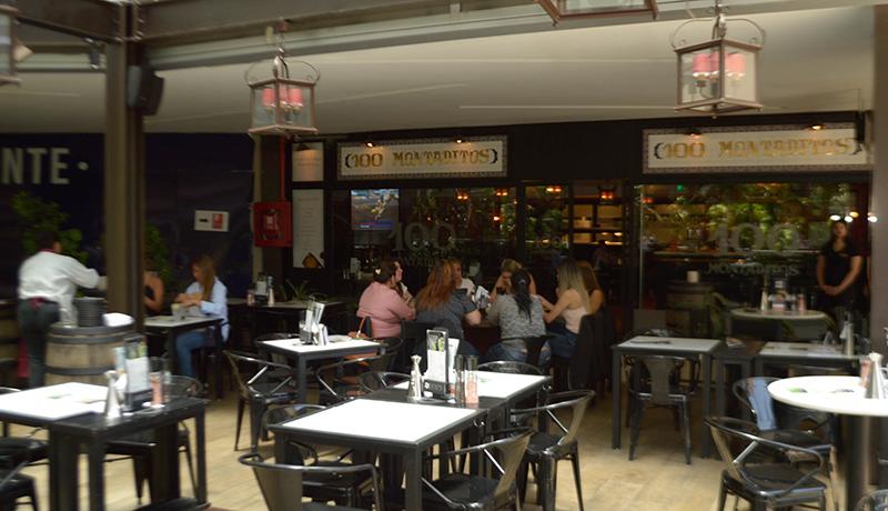 100 Montaditos está ubicado en el segundo nivel de Las Terrazas del Paseo La Galería.