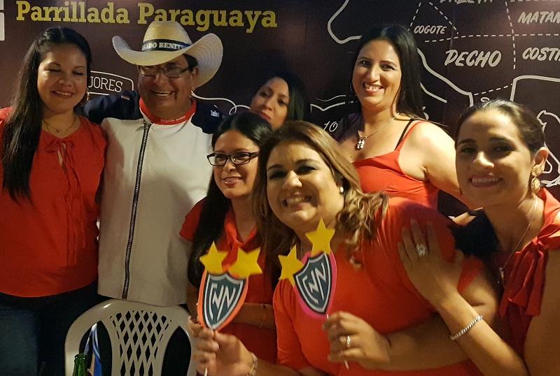 La Parrillada Paraguaya de Asado Benítez tuvo una gran aceptación de parte del público.