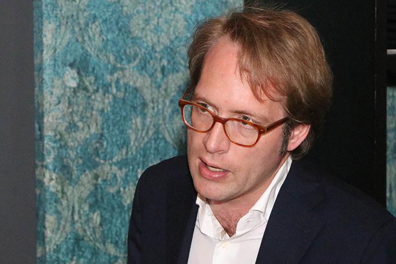 Clovis Taittinger, director general adjunto y director de exportaciones de Taittinger, una de las pocas bodegas que mantienen una tradición familiar.