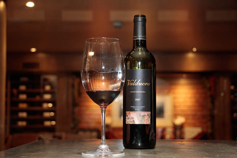 Valduero Gran Reserva condenominación de origen Ribera del Duero. Un vino con un