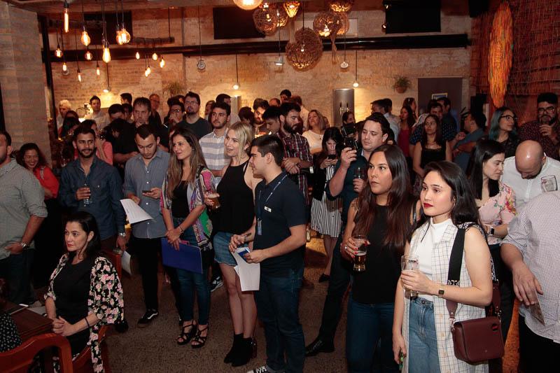 Gran cantidad de invitados asistieron al lanzamiento de las choperas Memo realizado en Cocina Clandestina con participación de representantes de diversas marcas de cerveza.